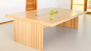 Lightweight DendroLight table tops