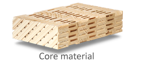 Lightweight solidwood core material