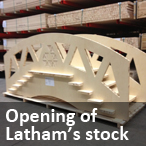 Opening of Latham's stock 2012